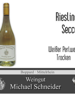 Riesling Secco, Weißer Perlwein