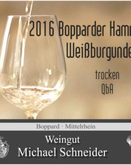 2016 Bopparder Hamm Weißburgunder