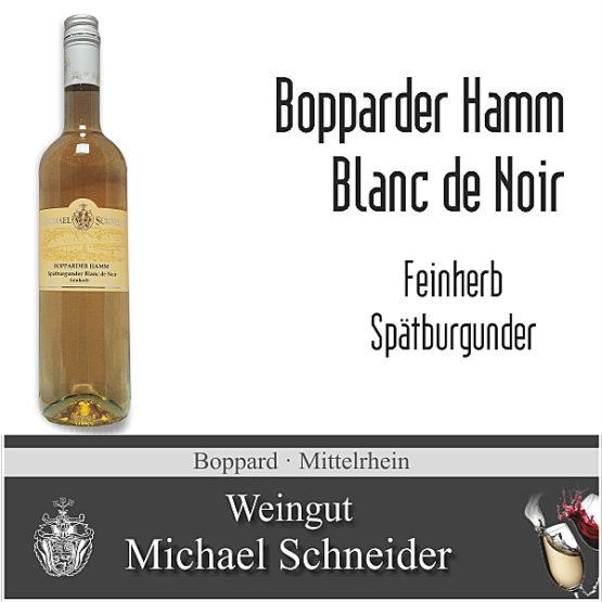 Bopparder Hamm Blanc de Noir, feinherb