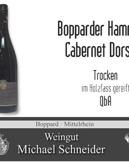 Cabernet-Dorsa, Rotwein Bopparder Hamm