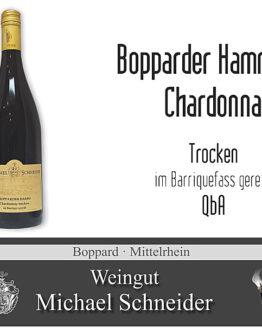 Bopparder Hamm Chardonnay, Barriquefass