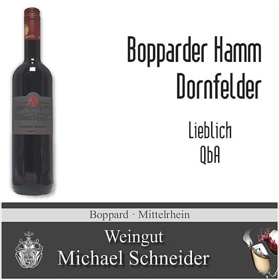 Bopparder Hamm Dornfelder, lieblich