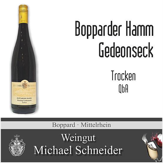 Bopparder Hamm Gedeonseck, trocken