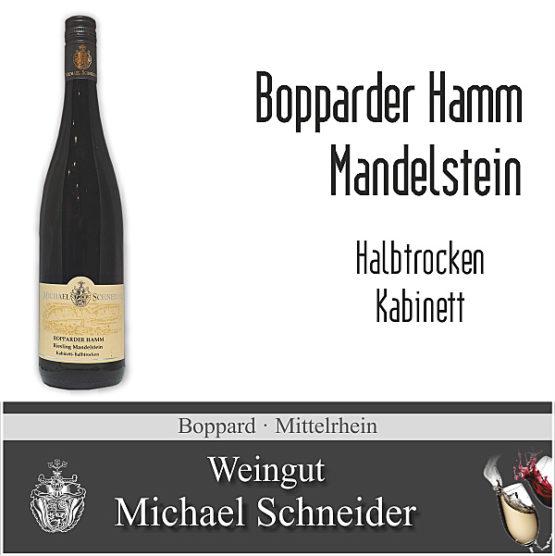 Bopparder Hamm Mandelstein, halbtrocken