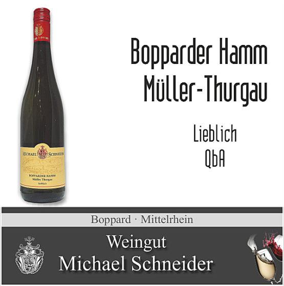 Bopparder Hamm Müller-Thurgau, lieblich