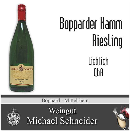 Bopparder Hamm Riesling, lieblich