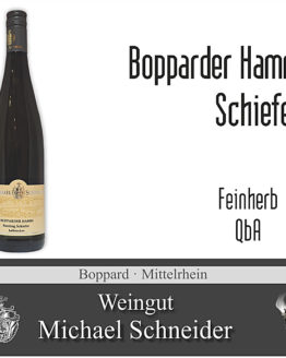 Bopparder Hamm Riesling Schiefer, halbtrocken