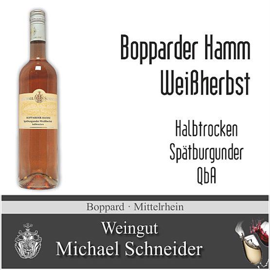 Bopparder Hamm Weißherbst, Spätburgunder halbtrocken