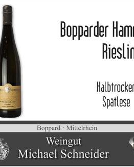Bopparder Hamm Riesling Spätlese, halbtrocken