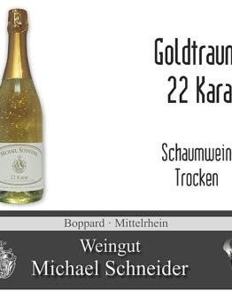 Goldtraum - 22 Karat, Schaumwein