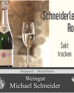 Sekt Schneiderlein Rosé